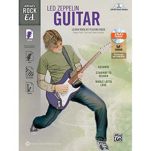 Alfred Rock Ed.: Led Zeppelin Guitar Book & DVD-ROM thumbnail