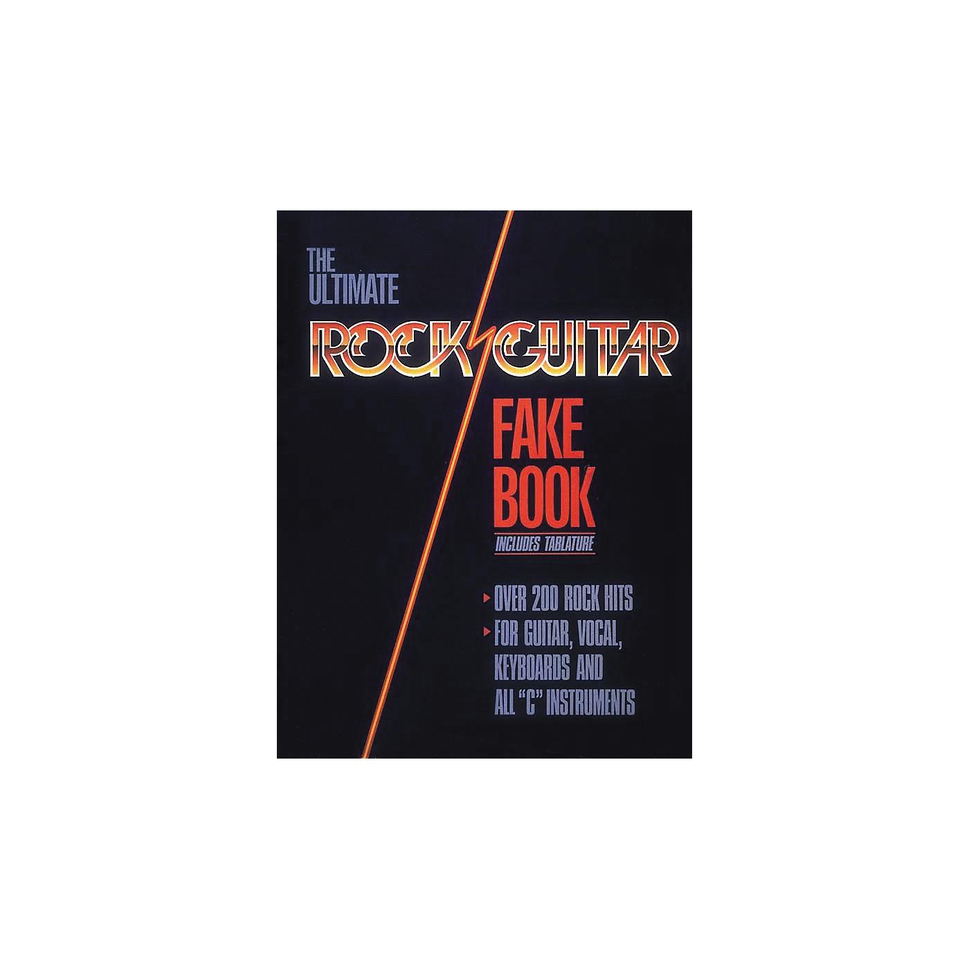 Hal Leonard Rock Guitar Fake Book thumbnail