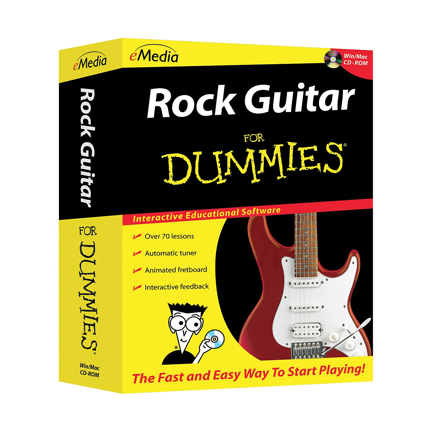 eMedia Rock Guitar For Dummies CD-ROM thumbnail