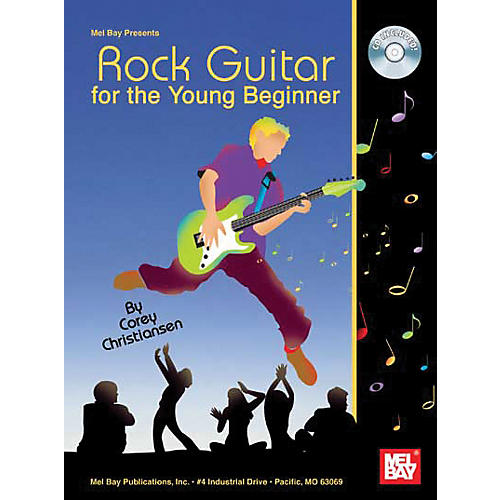 Mel Bay Rock Guitar For The Young Beginner Book and CD thumbnail