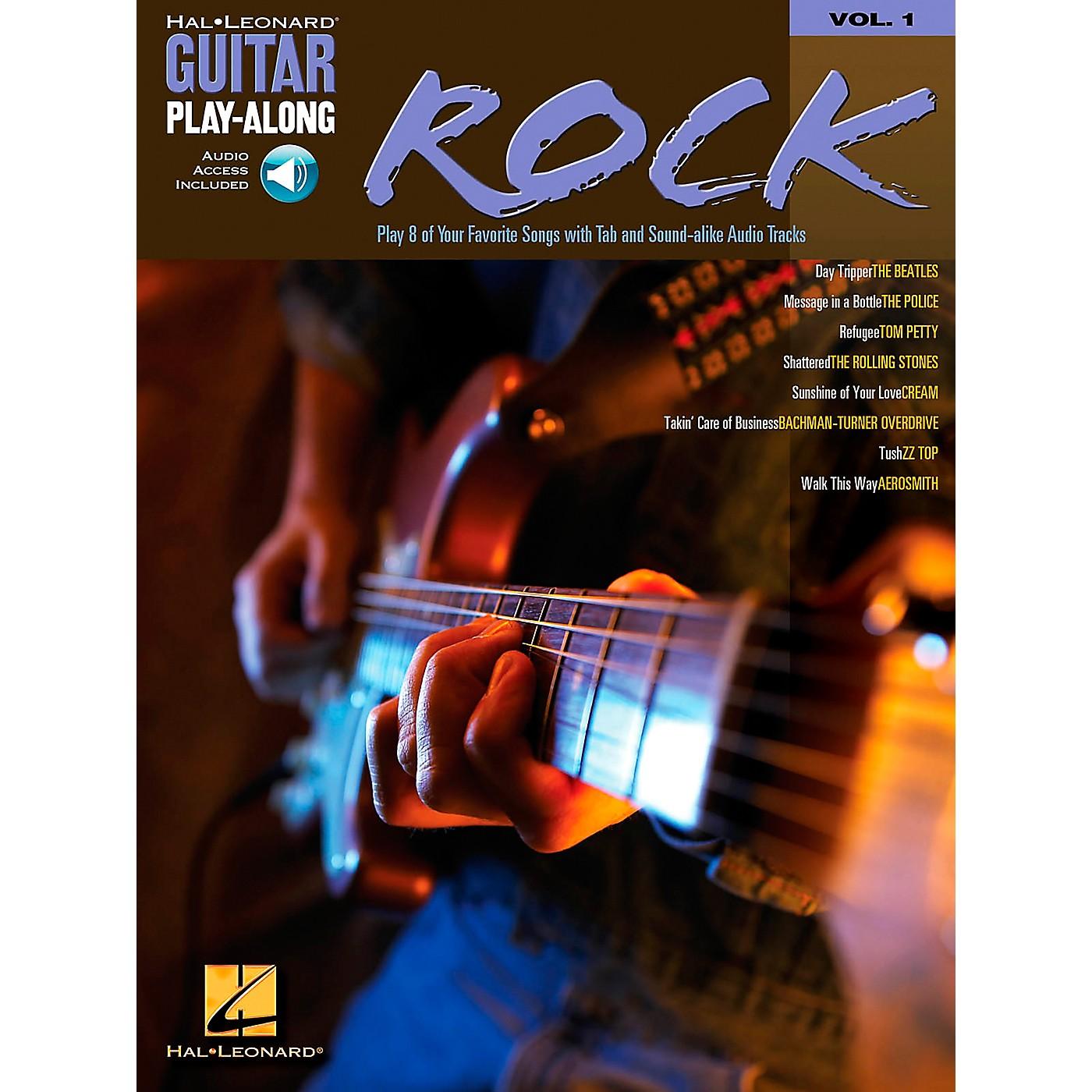 Hal Leonard Rock Guitar Play-Along Book with CD Volume 1 thumbnail