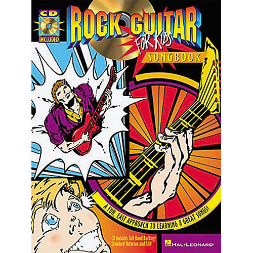 Hal Leonard Rock Guitar for Kids Songbook-thumbnail