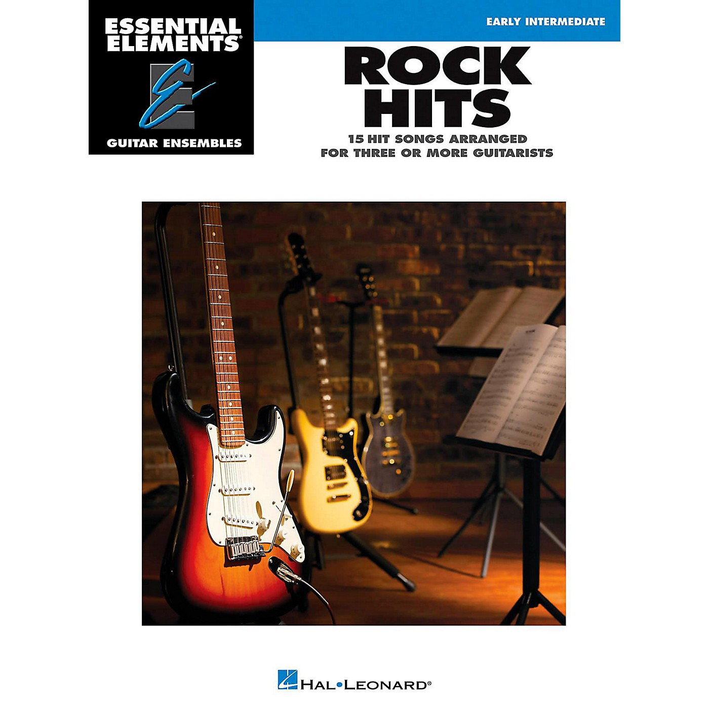 Hal Leonard Rock Hits - Essential Elements Guitar Ensembles Early Intermediate thumbnail