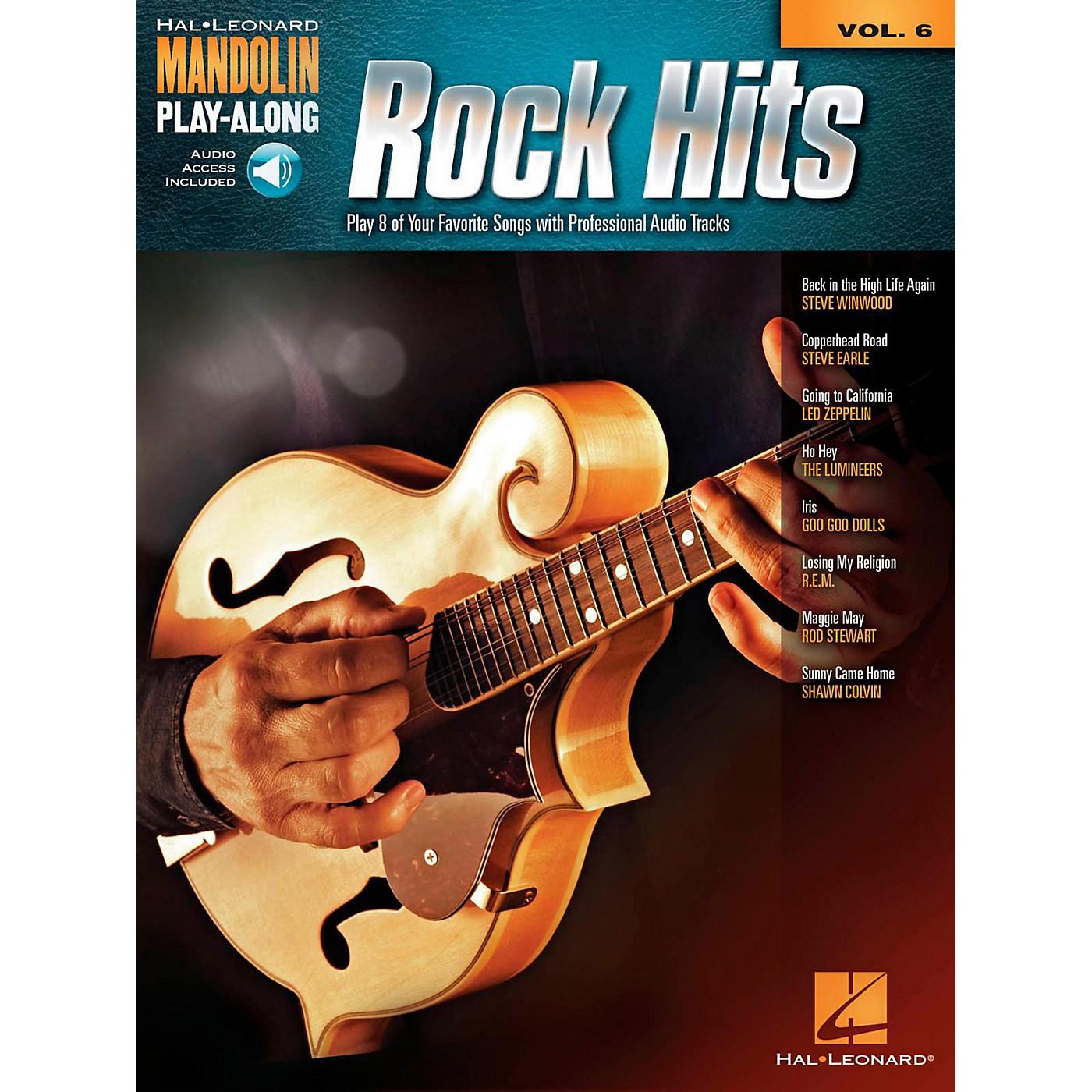 Hal Leonard Rock Hits - Mandolin Play-Along Volume 6 Book/Online Audio thumbnail
