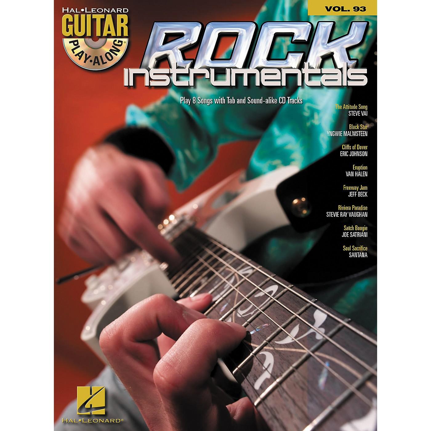 Hal Leonard Rock Instrumentals - Guitar Play-Along Volume 93 (Book/CD) thumbnail
