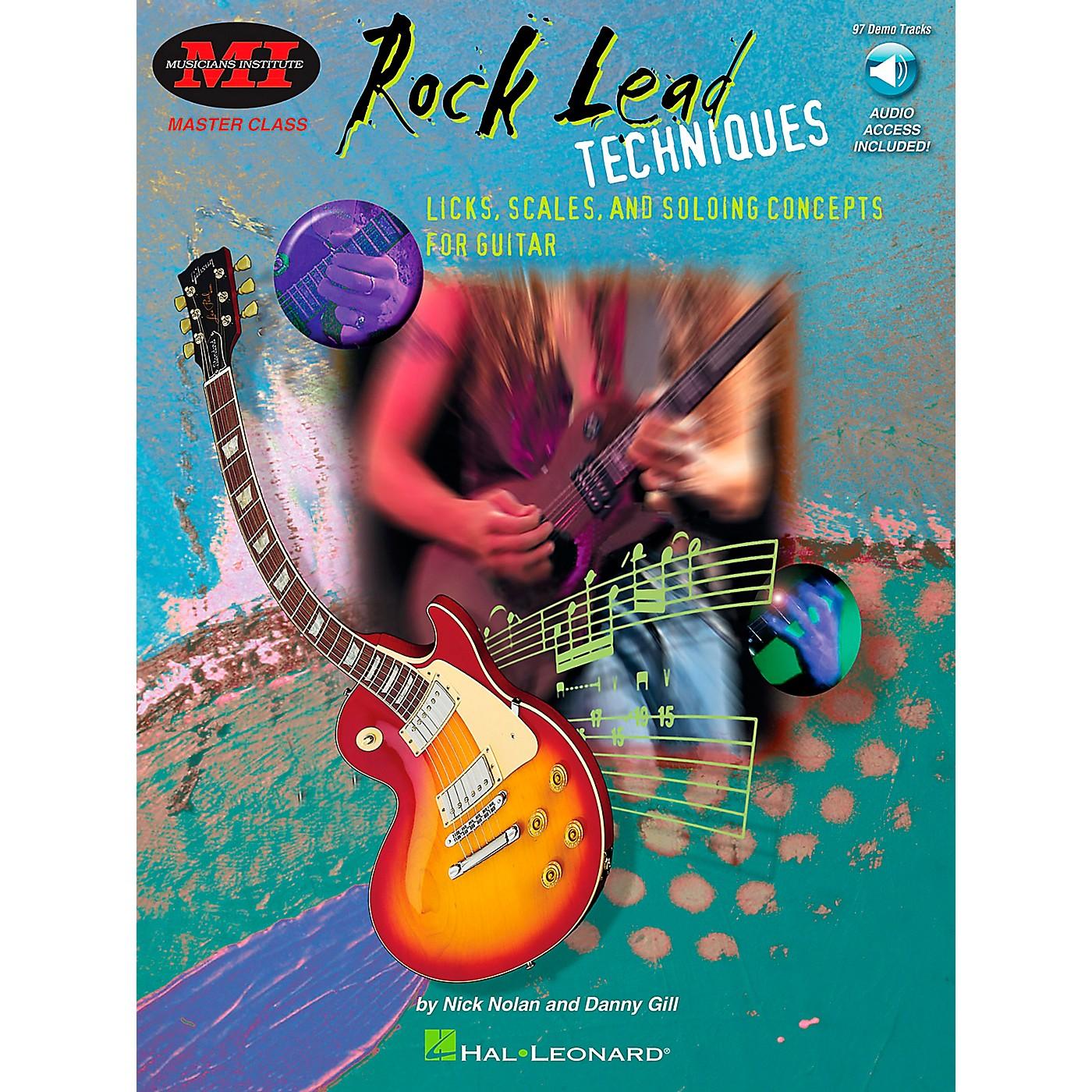 Hal Leonard Rock Lead Techniques Book/CD Package thumbnail