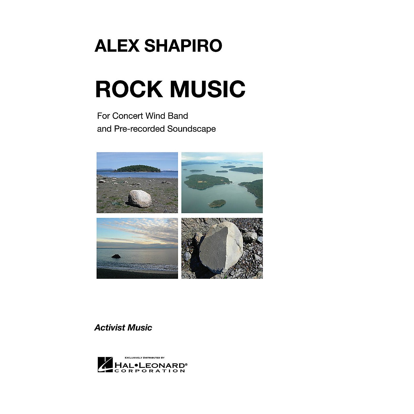 Activist Music Rock Music (for Concert Wind Band and Pre-Recorded Soundscapes) Concert Band Level 2.5 by Alex Shapiro thumbnail