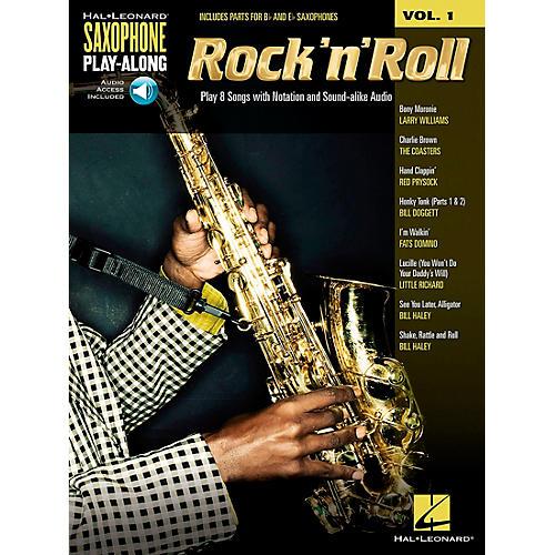 Hal Leonard Rock 'N' Roll - Saxophone Play-Along Vol. 1 Book/Online Audio thumbnail