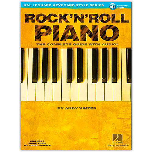 Hal Leonard Rock 'N' Roll Piano - Hal Leonard Keyboard Style Series (Book/Online Audio) thumbnail