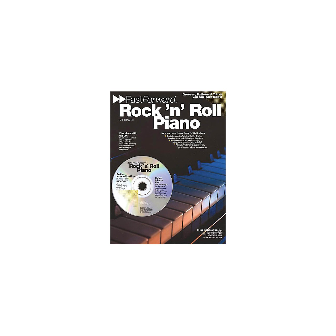 Music Sales Rock 'N' Roll Piano Music Sales America Series Softcover with CD Written by Bill Worrall thumbnail