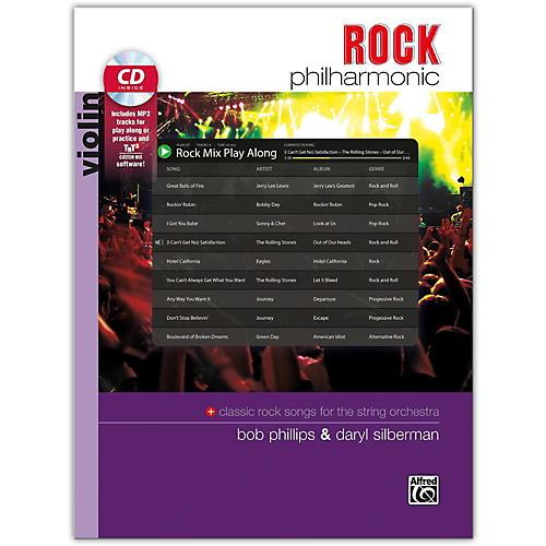 Alfred Rock Philharmonic Violin Book & CD thumbnail