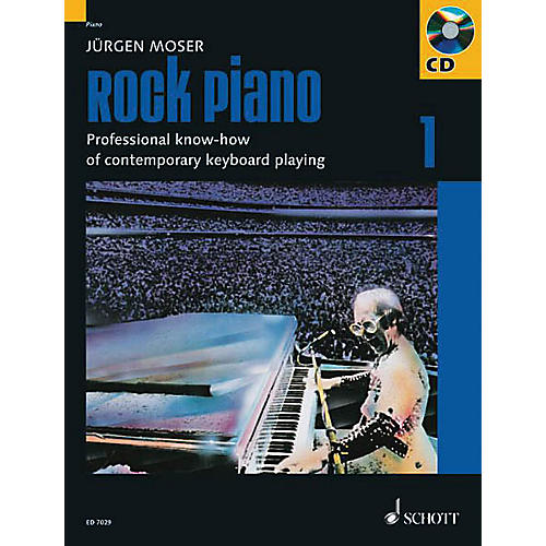 Schott Rock Piano - Volume 1 Schott Series Softcover with CD thumbnail