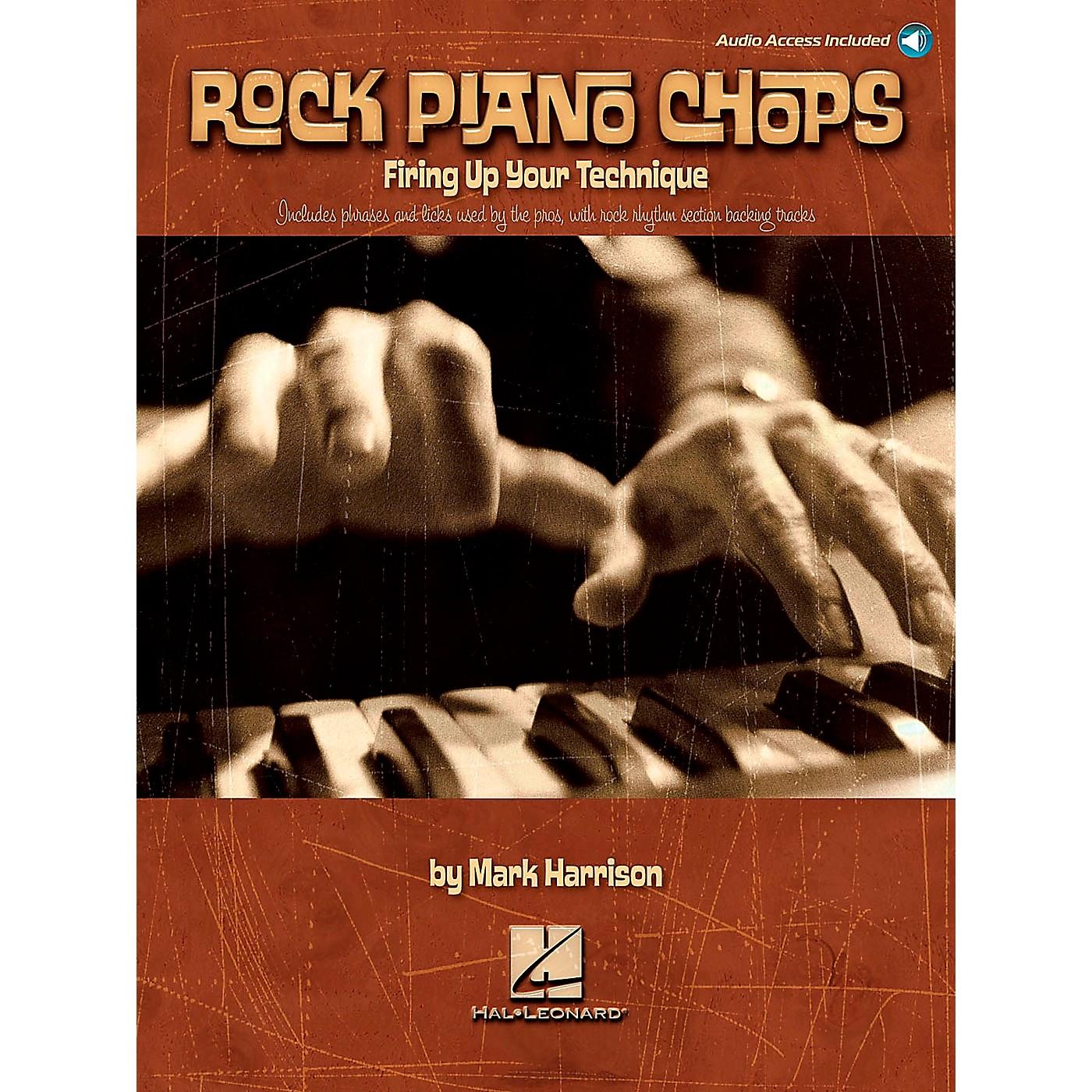 Hal Leonard Rock Piano Chops Firing Up Your Technique Book/CD thumbnail