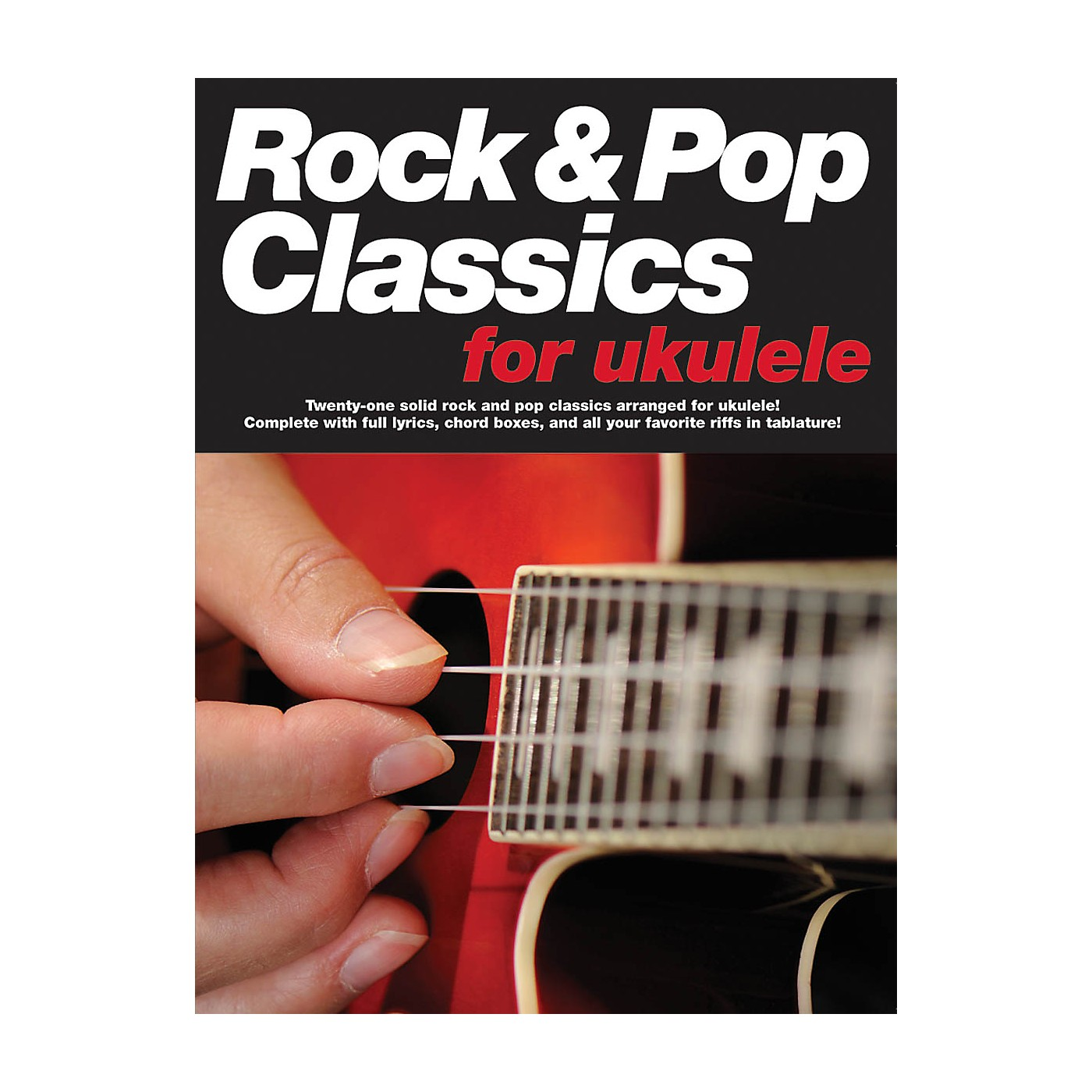 Music Sales Rock & Pop Classics for Ukulele Music Sales America Series Softcover Performed by Various thumbnail