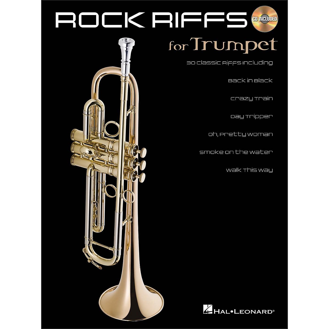 Hal Leonard Rock Riffs for Trumpet Book/CD thumbnail