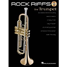 Hal Leonard Rock Riffs for Trumpet Book/CD