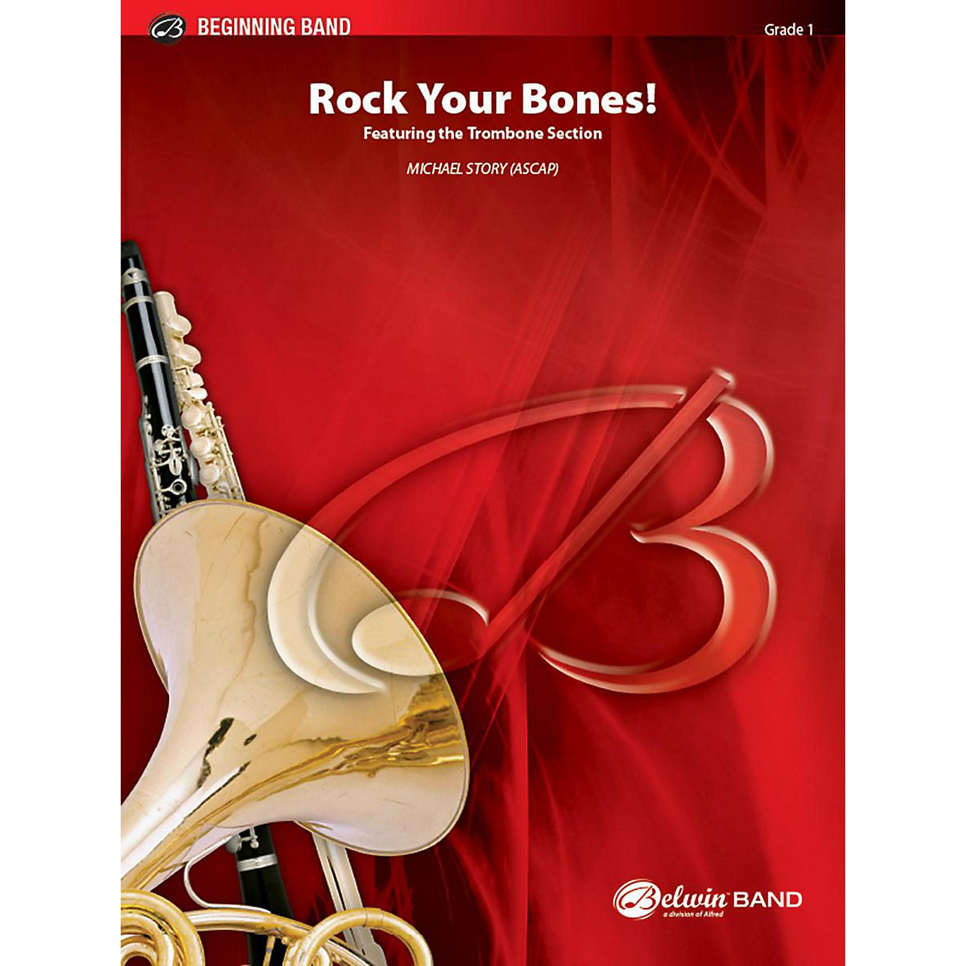 Alfred Rock Your Bones! Concert Band Grade 1 Set thumbnail