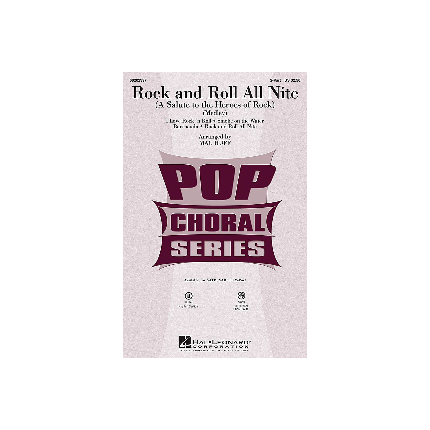 Hal Leonard Rock and Roll All Nite (A Salute to the Heroes of Rock) 2-Part by Various arranged by Mac Huff thumbnail
