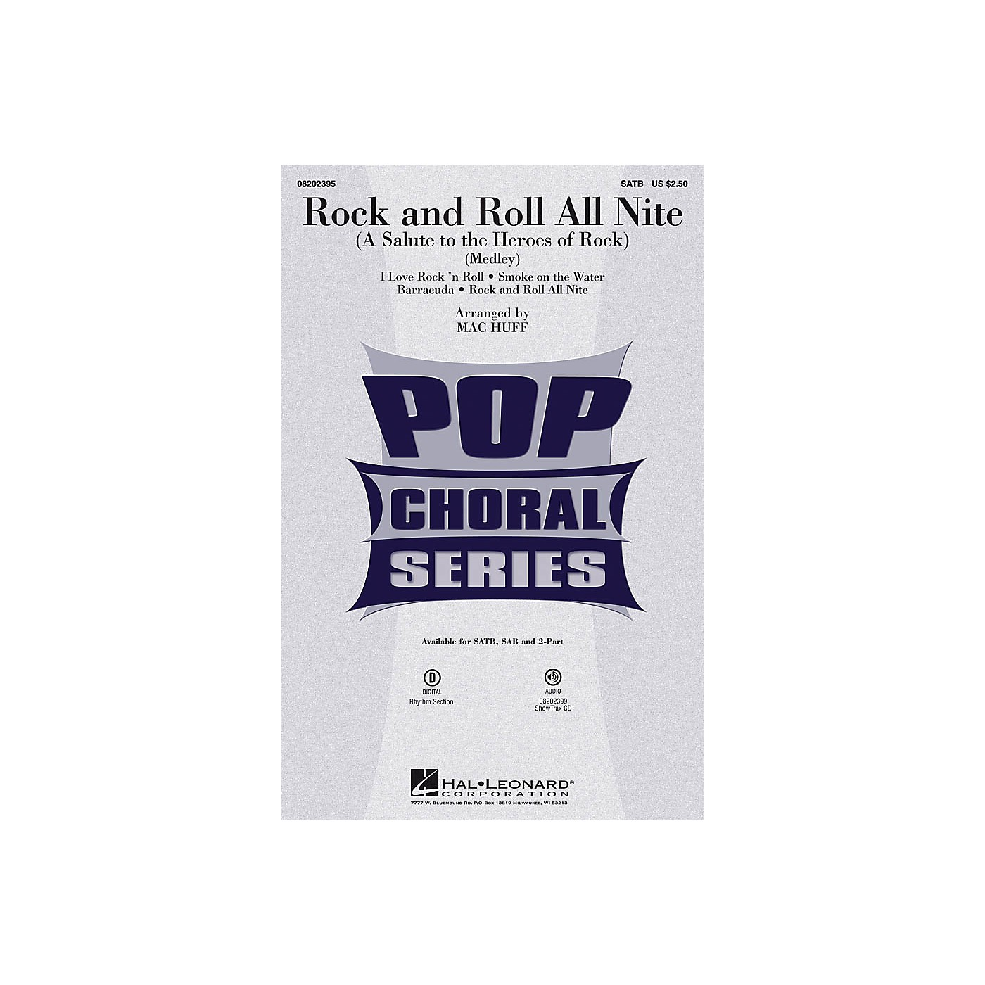 Hal Leonard Rock and Roll All Nite (A Salute to the Heroes of Rock) ShowTrax CD by Various Arranged by Mac Huff thumbnail
