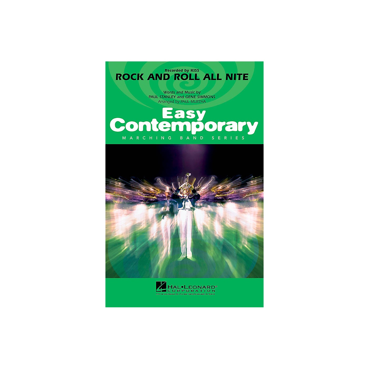 Hal Leonard Rock and Roll All Nite Marching Band Level 2-3 by Jamiroquai Composed by Paul Stanley thumbnail
