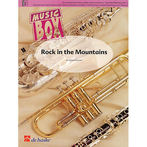 De Haske Music Rock in the Mountains Concert Band Level 2 Arranged by Roland Kernen thumbnail