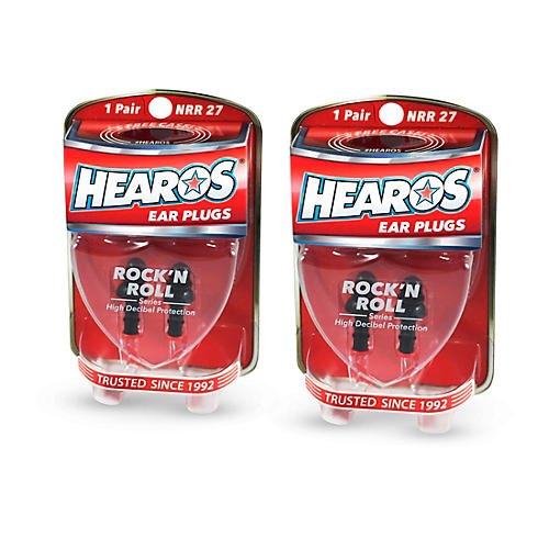 Hearos Rock n' Roll Ear Filters 2-Pack thumbnail