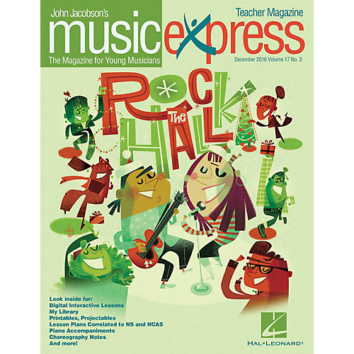 Hal Leonard Rock the Hall Vol. 17 No. 3 TEACHER W/AUDIO&PDF DOWNLOADS by American Authors Arranged by Emily Crocker thumbnail