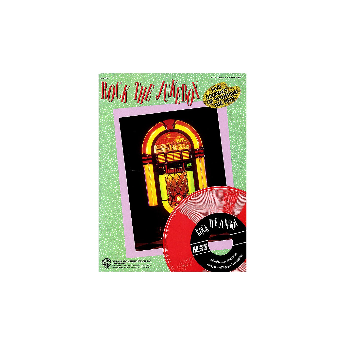 Hal Leonard Rock the Jukebox (Feature Medley) ShowTrax CD Arranged by Mark Brymer thumbnail