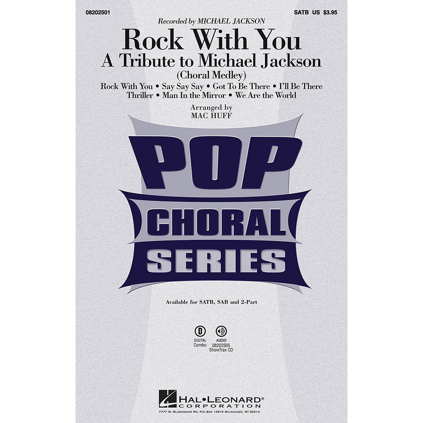 Hal Leonard Rock with You - A Tribute to Michael Jackson (Medley) ShowTrax CD by Michael Jackson Arranged by Mac Huff thumbnail