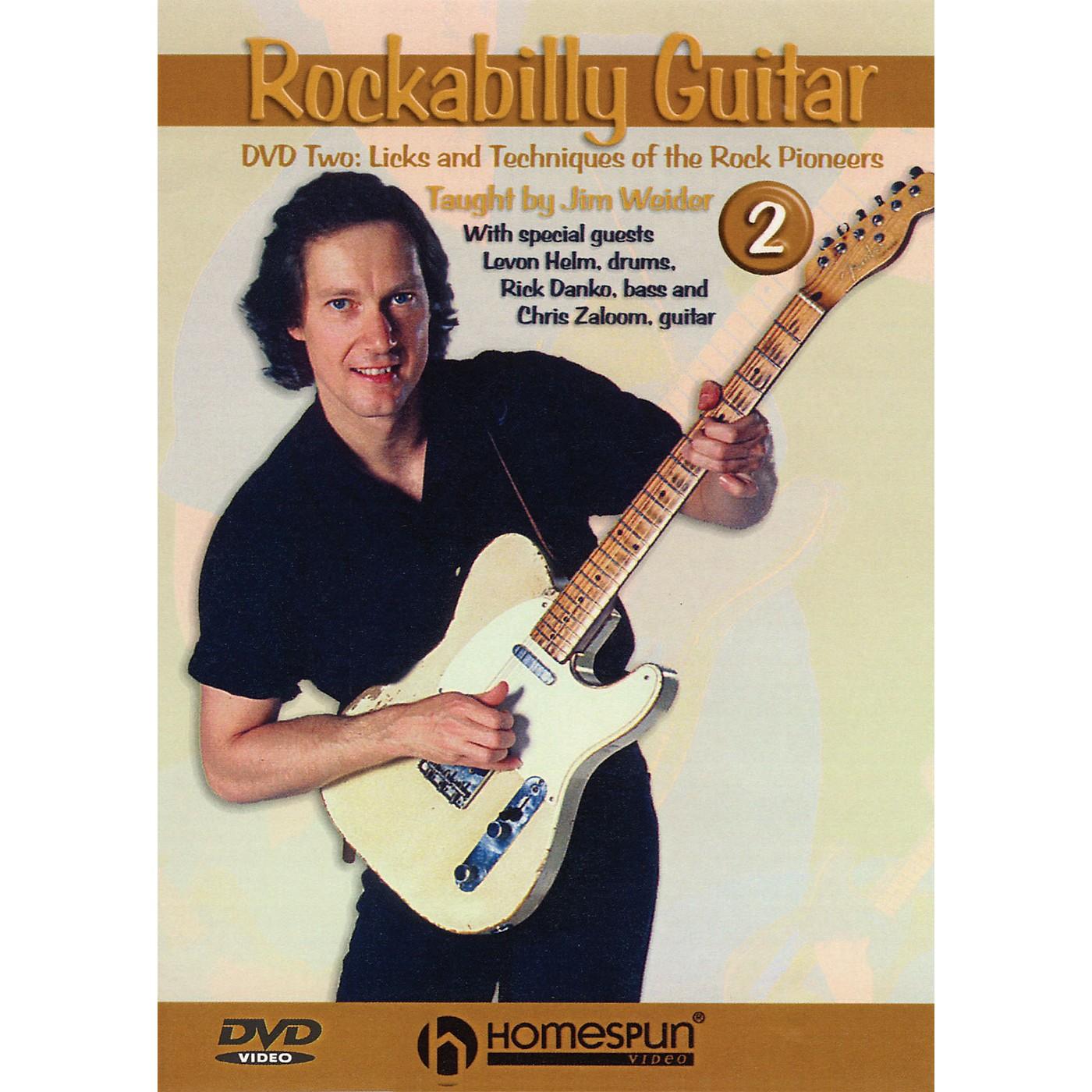 Homespun Rockabilly Guitar - Lesson Two Instructional/Guitar/DVD Series DVD Written by Jim Weider thumbnail
