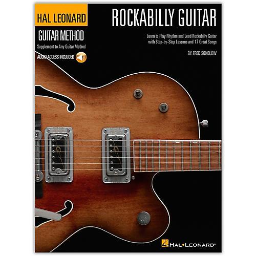 Hal Leonard Rockabilly Guitar - Stylistic Supplement To The Hal Leonard Guitar Method (Book/Online Audio) thumbnail