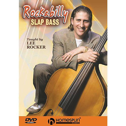 Homespun Rockabilly Slap Bass (DVD)-thumbnail