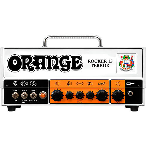 Orange Amplifiers Rocker 15 Terror 15W Tube Guitar Amp Head thumbnail