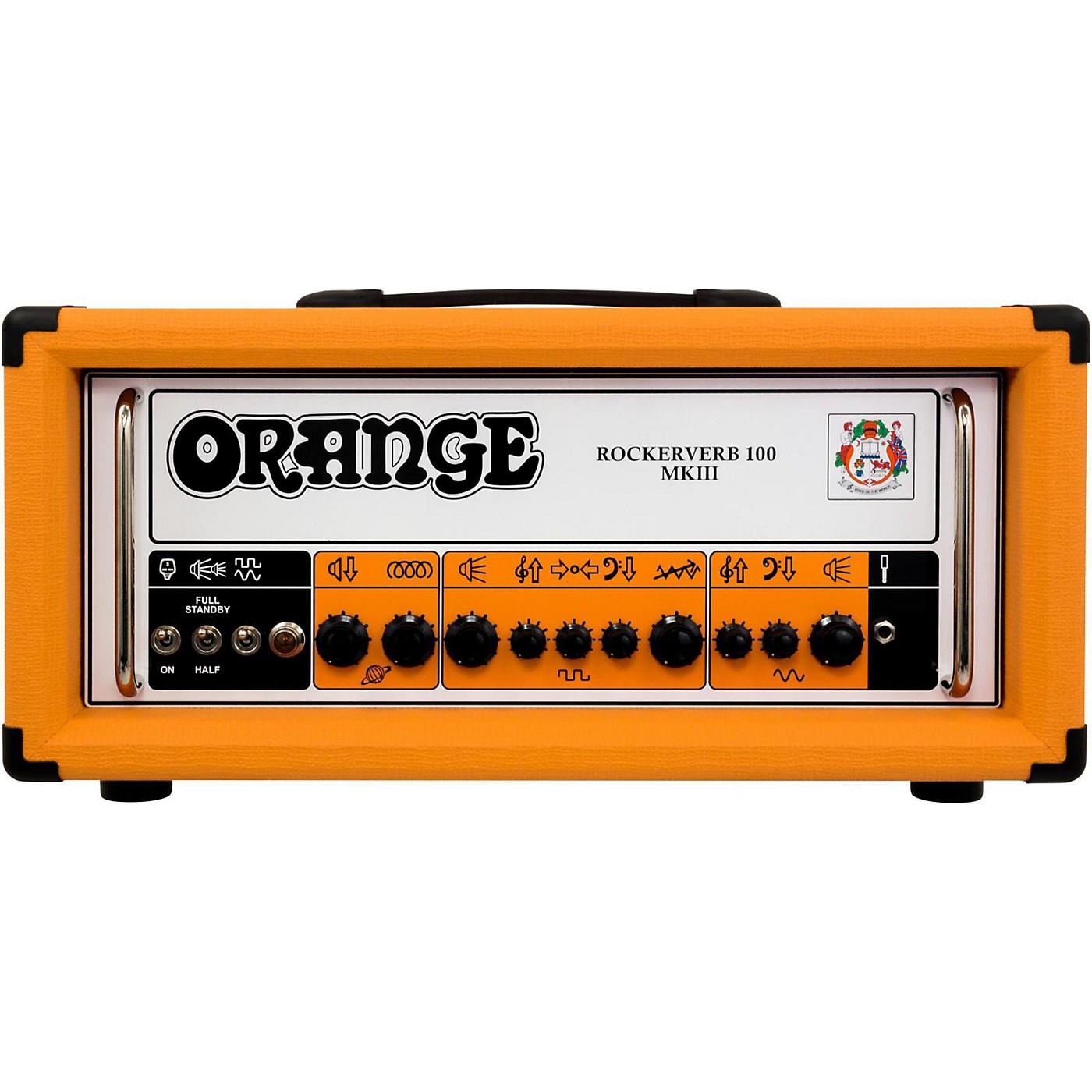 Orange Amplifiers Rockerverb 100 MKIII 100W Tube Guitar Amp Head thumbnail
