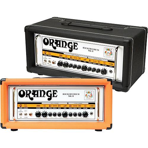 Orange Amplifiers Rockerverb 50 MK II 50W Tube Guitar Amp Head-thumbnail