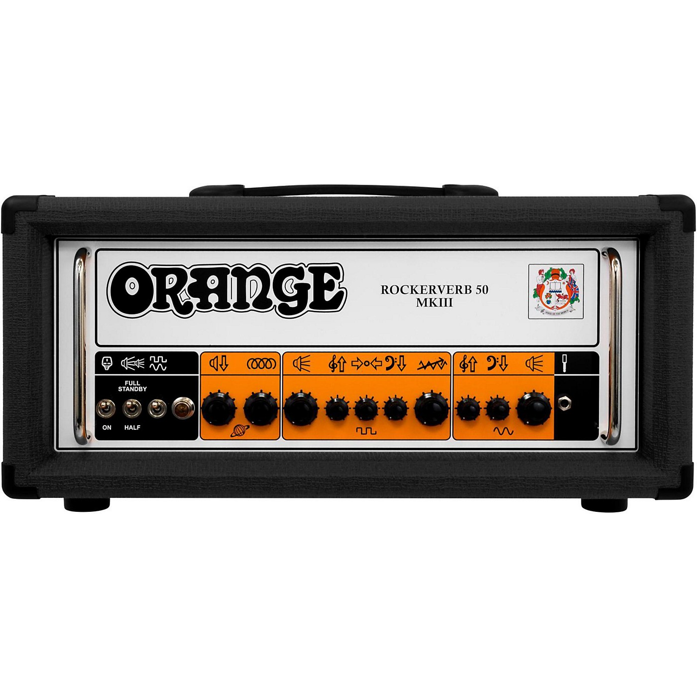 Orange Amplifiers Rockerverb 50 MKIII 50W Tube Guitar Amp Head thumbnail