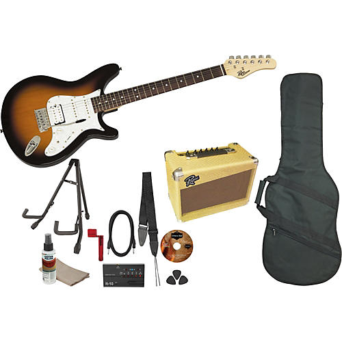 Rogue Rocketeer Deluxe Electric Guitar Pack thumbnail