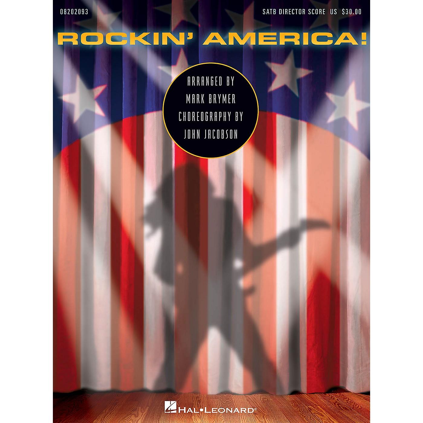 Hal Leonard Rockin' America! (Choral Medley) DIR-KIT Arranged by Mark Brymer thumbnail