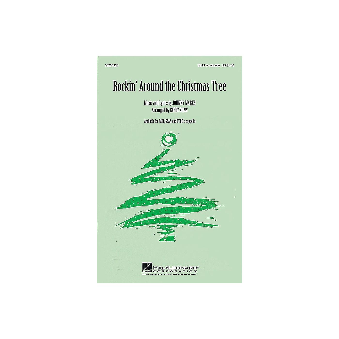 Hal Leonard Rockin' Around the Christmas Tree SSAA A Cappella arranged by Kirby Shaw thumbnail