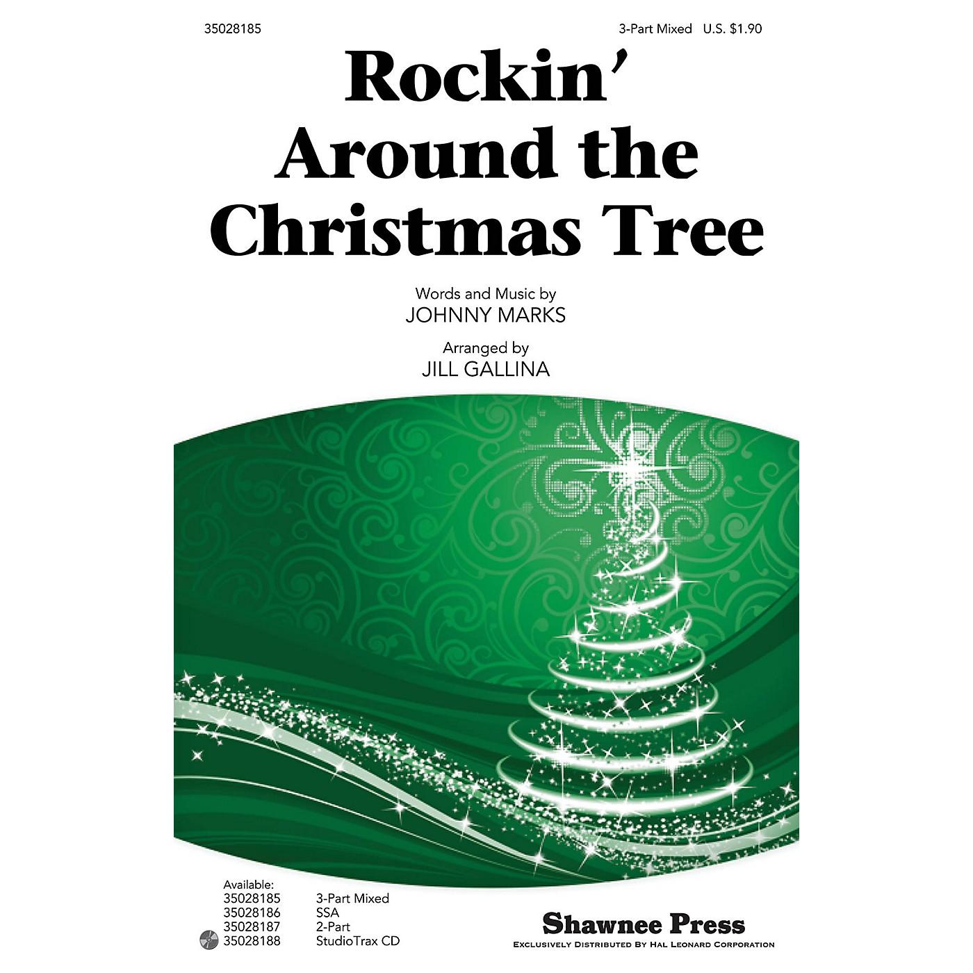 Shawnee Press Rockin' Around the Christmas Tree Studiotrax CD Arranged by Jill Gallina thumbnail