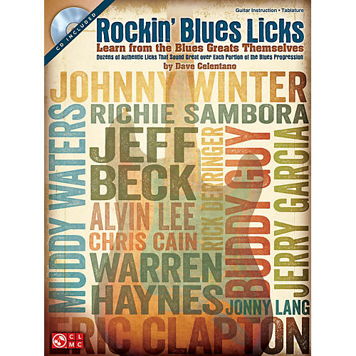 Hal Leonard Rockin' Blues Licks Learn from the Blues Greats Themselves Book/CD thumbnail
