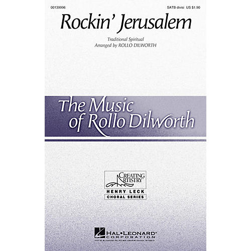 Hal Leonard Rockin' Jerusalem SATB Divisi arranged by Rollo Dilworth thumbnail