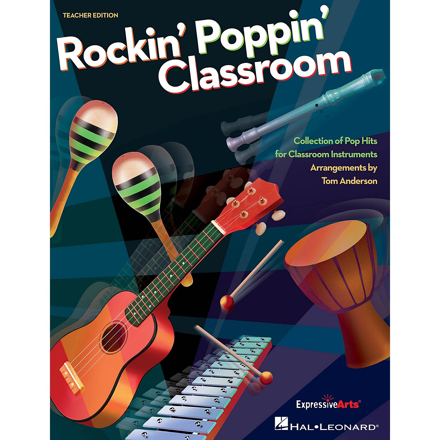 Hal Leonard Rockin' Poppin' Classroom TEACHER Arranged by Tom Anderson thumbnail