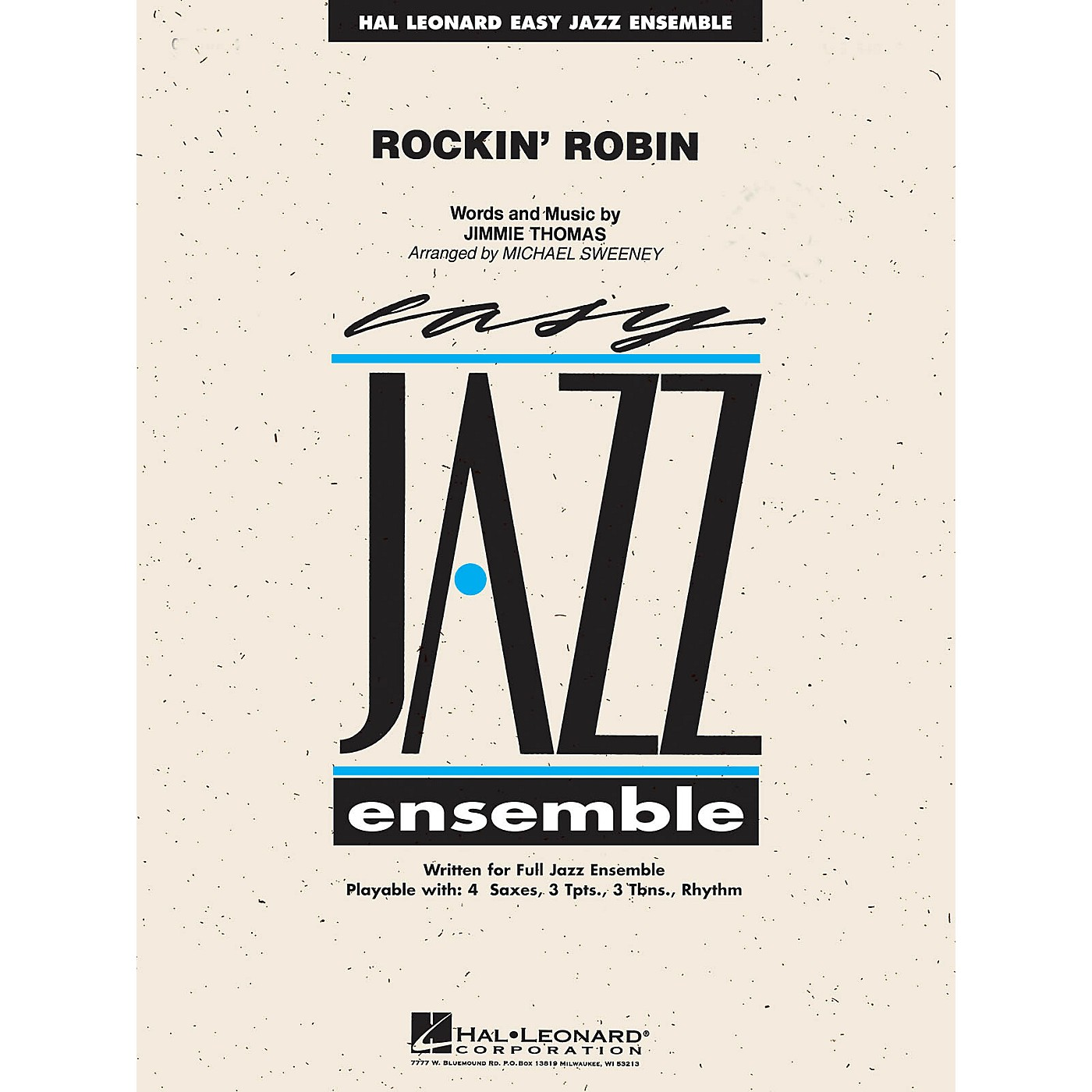 Hal Leonard Rockin' Robin Jazz Band Level 2 Arranged by Michael Sweeney thumbnail