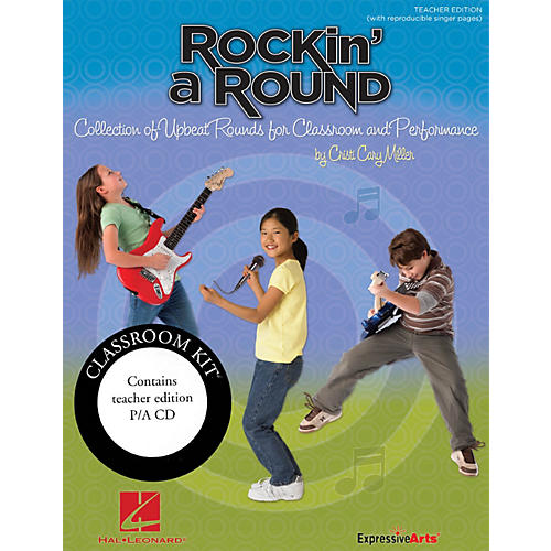 Hal Leonard Rockin' a Round - Collection of Upbeat Rounds for Classroom and Performance Classroom Kit-thumbnail