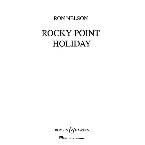 Boosey and Hawkes Rocky Point Holiday Concert Band Composed by Ron Nelson thumbnail