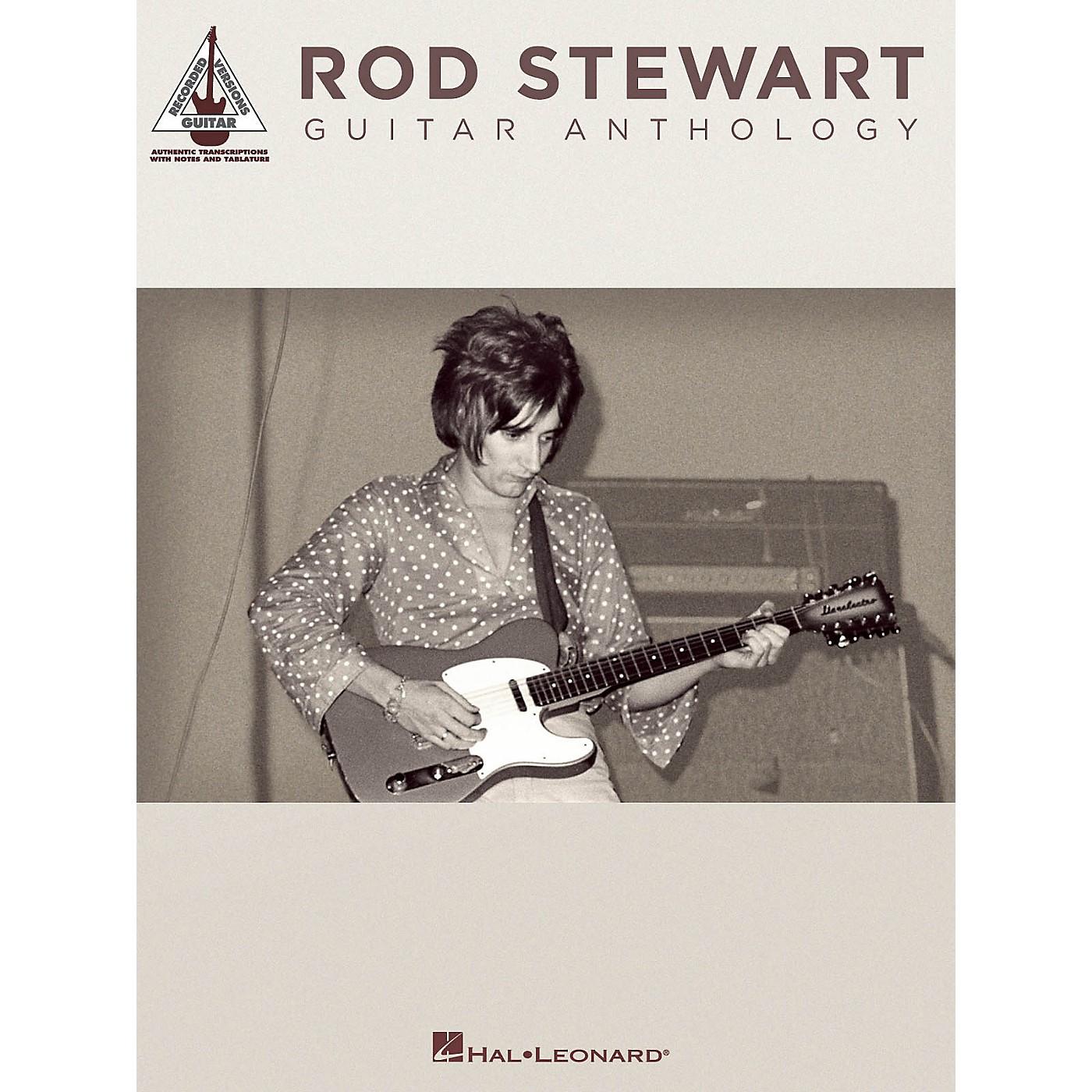 Hal Leonard Rod Stewart Guitar Anthology Guitar Tab Songbook thumbnail