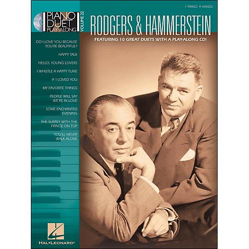 Hal Leonard Rodgers & Hammerstein Piano Duet Play-Along Volume 22 Book/CD thumbnail
