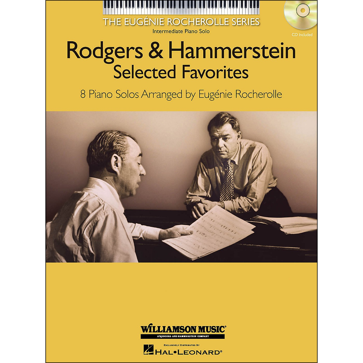 Hal Leonard Rodgers & Hammerstein Selected Favorites - The Eugenie Rocherolle Series (Book/CD) arranged for piano solo thumbnail