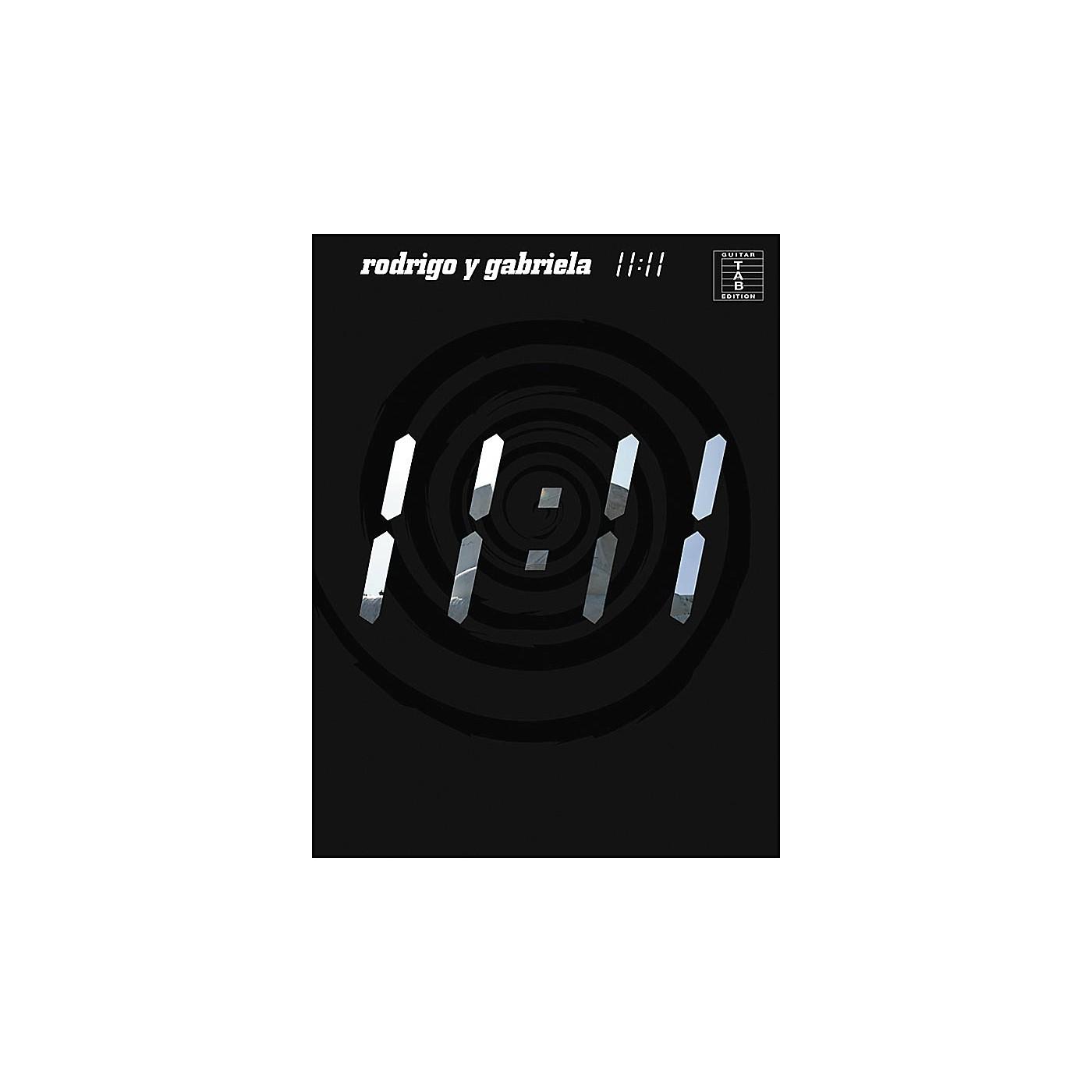 Music Sales Rodrigo Y Gabriela - 11:11 Tab Book thumbnail